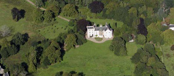 In dem Castle of Park B&B in Aberdeenshire können Gäste in einer echten schottischen Burg übernachten