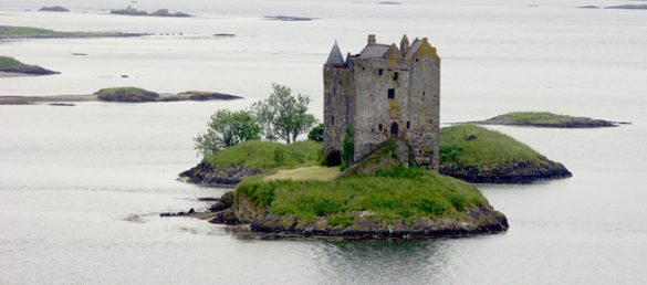 Es gibt mehr als 250 Castles in Schottland