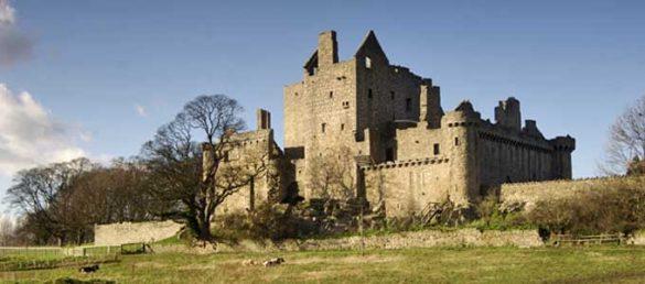 Die Ruine von Craigmillar Castle in East Lothian ist eng mit der sagenumwobenen Mary Queen of Scots verbunden