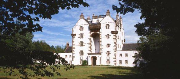 Die Familie Urquhart nennt das königliche Craigston Castle bei Turriff sein eigen