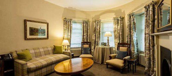 Die Gate Lodge am Eingang zum Cromlix Estate von Andy Murray ist äußerst komfortable und geschmackvoll restauriert