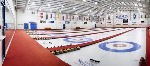 Die Wintersportart Curling wird in Schottland auch gern als Schach auf Eis bezeichnet