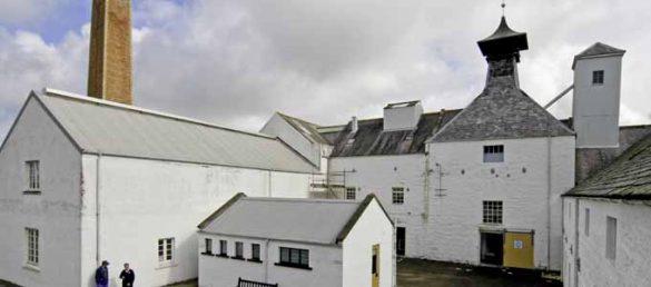Die Dallas Dhu Historic Distillery in Morayshire wird von Historic Scotland verwaltet