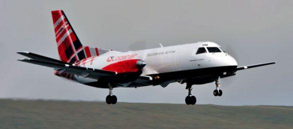 Es scheint offensichtlich die Zeit für eine Renaissance der schottischen Fluggesellschaft Loganair gekommen zu sein