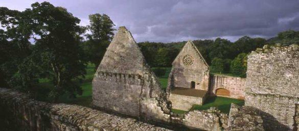 Neben Melrose und Jedburgh ist Dryburgh Abbey die dritte Abtei in der Obhut von Historic Scotland in den Scottish Borders