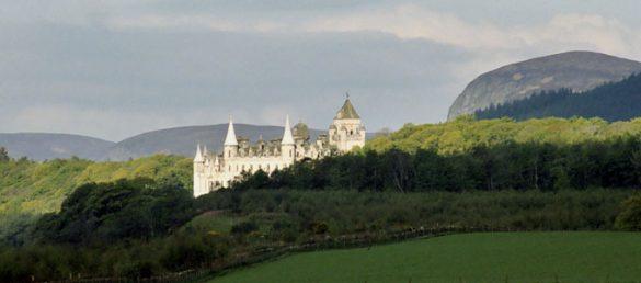 Dunrobin Castle wurde zum Drehort von zwei ZDF-Produktionen der beliebten Rosamunde Pilcher Verfilmungen