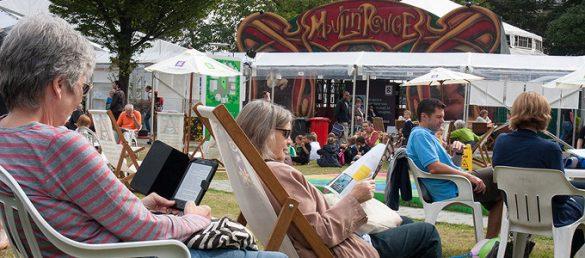 Immer im August findet in Edinburgh das International Book Festival mit viel Literatur-Prominenz statt