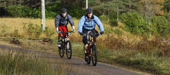 Mit dem Fahrrad durch Schottland zu fahren stellt an manchen Orten durchaus eine sportliche Herausforderung dar