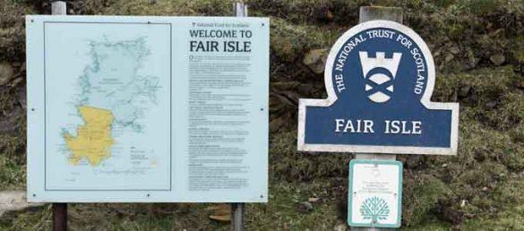 Die Insel Fair Isle ist die entlegenste bewohnte Insel im Vereinigten Königsreich