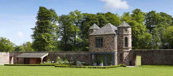 Es gibt insgesamt vier verschiedene Fasque Castle Holiday Cottages auf dem gleichnamigen Estate in Aberdeenshire