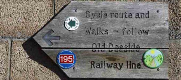 Es gibt ein sehr gut ausgebautes Netz an Fernradwanderwegen in Schottland