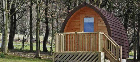 Der Five Roads Caravan Park in Perthshire liegt zu Füßen der Angus Glens