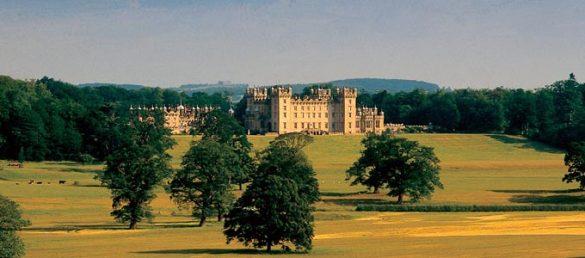 Das imposante Floors Castle in den Scottish Borders wird noch immer von der Besitzerfamilie des Duke of Roxburghe bewohnt