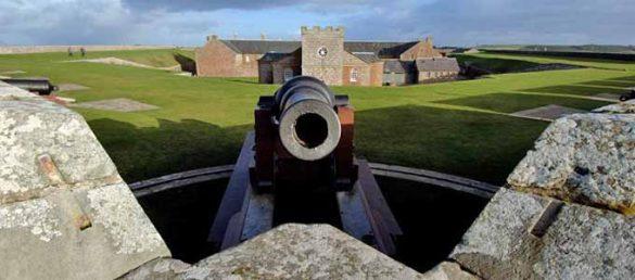 Die zu Verteidigungszwecken erbaute Festung Fort George ist aud drei Seiten vom Moray Firth umgeben und daher kaum einnehmbar