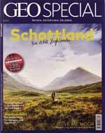 Das GEO Special SCHOTTLAND Magazin 4/2019