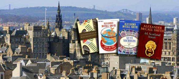 Der schottische Erfolgsautor Alexander McCall Smith schreibt Geschichten aus der schottischen Hauptstadt Edinburgh