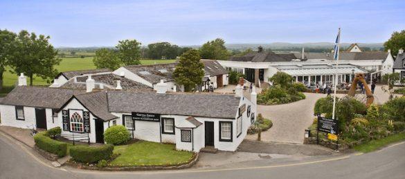 Der Gretna Green Famous Blacksmiths Shop ist häufig der erste bzw. letzte Stopp in Schottland