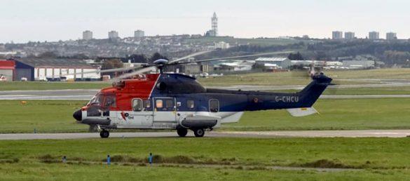 Aufgrund der vielen Flugbewegungen zu den Bohrinseln zwischen Schottland und Norwegen gilt Aberdeen als größter Heliport der Welt