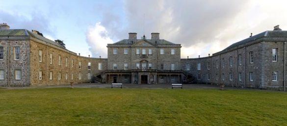 Die herrschaftliche Villa Haddo House bei Tarves in Aberdeenshire wurde vom Architekten William Adam erbaut