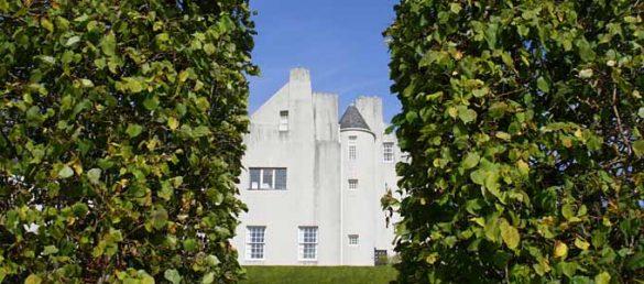 Das Hill House in Helensburgh gehört zu den Meisterwerken des Glasgower Architekten Charles Rennie Mackintosh