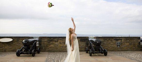 Die jährliche Hochzeitsmesse auf Edinburgh Castle ist für Heiratswillige ein ganz besonderer Besuchsanlass