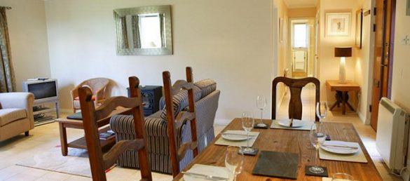 Das Holiday Cottage am Airds Hotel in Port Appin bietet viel Privatsphäre und Komfort