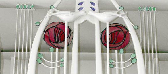 Der Architekt Charles Rennie Mackintosh erlebte leider nicht mehr die Vollendung seines Konzepts für ein »House for an Art Lover« in Glasgow