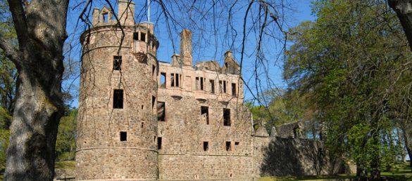 Huntly Castle in Aberdeenshire besitzt eine ganz eigene mystische Anziehungskraft