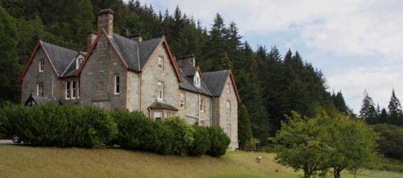 Das Inch Hotel liegt etwas außerhalb von Fort Augustus am Loch Ness
