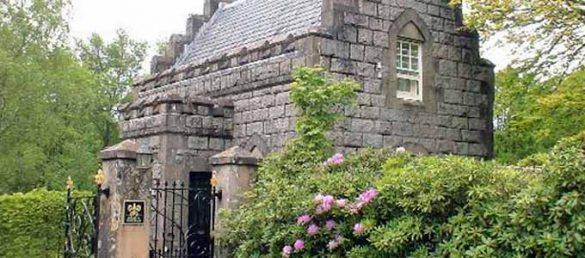 In der Gate Lodge am Inverlochy Castle genießen die Gäste die Ruhe und Abgeschiedenheit