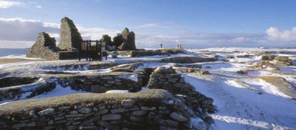 Jarlshof auf den Shetland Inseln gehört zu den bedeutendsten archäologischen Fundstätten Europas