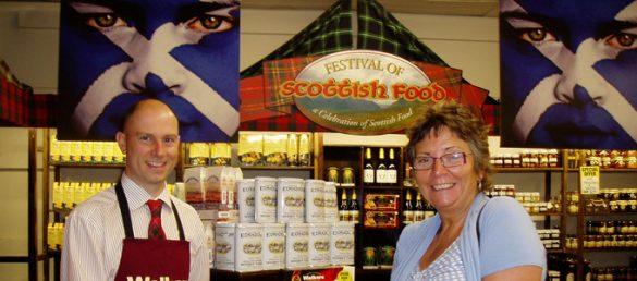 Zu einem Ausflug in die Scottish Borders im Süden Schottlands gehört auch ein Shopping-Stopp in der Jedburgh Woollen Mill