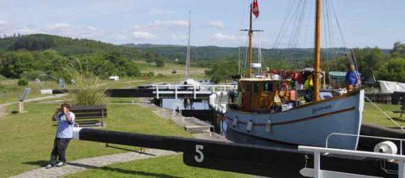 Scottish Canals kümmert sich liebevoll um die Erhaltung der Kanäle in Schottland