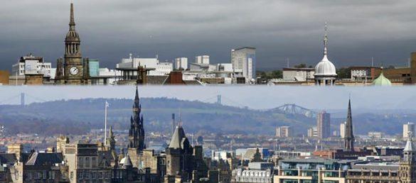 Der stete Konkurrenzkampf zwischen Edinburgh und Glasgow hat einen historischen Ursprung