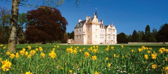 Im Lairds Wing von Brodie Castle steht eine exklusive Unterkunft zur Verfügung