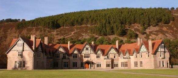 Mar Lodge ist ein exklusives Landhaus bei Braemar in Royal Deeside