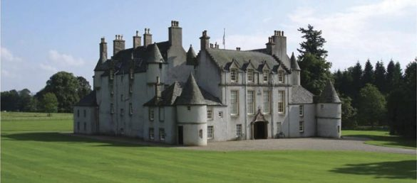 Leith Hall in Aberdeenshire ist seit 2013 wieder der Öffentlichkeit zugänglich