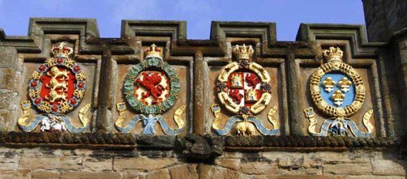 Linlithgow Palace liegt unweit von Edinburgh und steht unter der Verwaltung von Historic Scotland