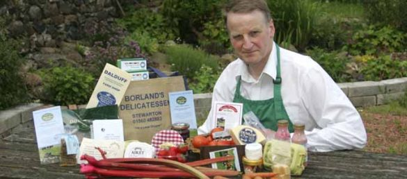 Howard Wilkinson from Ayrshire offers authentic, local food and drink