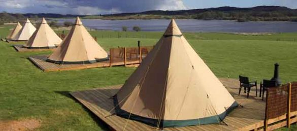 Loch Ken Holiday Park in den Galloway Hills ist ein Luxus-Campingplatz der Thistle Holiday Parks