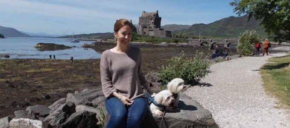 Sonja Thiede ist die Expertin für Reisen nach Schottland mit dem Hund