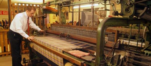 Die liebliche Hügellandschaft Südschottlands ist die Heimat der Moffat Woollen Mill