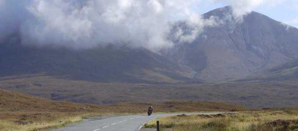Motorradfahren in den Royal Highlands lässt die Herzen so mancher Biker höher schlagen