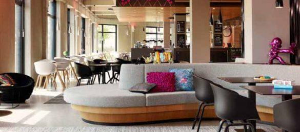 Das Moxy Hotel am Aberdeen Airport gehört zu der budgetfreundlichen Marke der renommierten Gruppe der Marriott Hotels