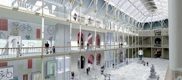 Das National Museum of Scotland (NMS) in Edinburgh wurde nach mehrjähriger Umbauzeit im Jahr 2011 wiedereröffnet
