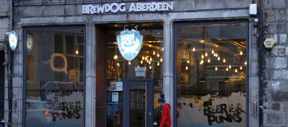 Das Nachtleben von Aberdeen ist geprägt durch eine lebhafte Pub- und Nightclub-Szene