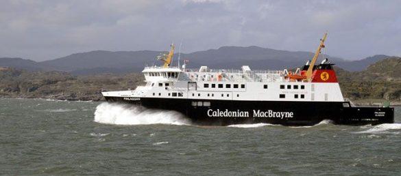 Es gibt eine neue CalMac-Fähre auf der Route von Kennacraig zur Insel Islay