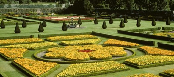 Pitmedden Garden ist einer der schönsten formellen Gärten in Aberdeenshire