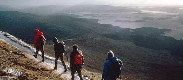 Der National Trust for Scotland bietet für die Reisebranche hochinteressante Ranger-Wanderungen an