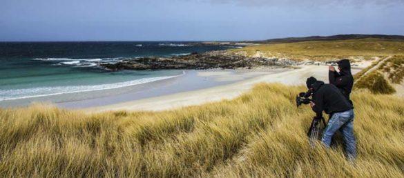 Martin Koddenberg schickt einen Reisebericht über die Äußeren Hebriden